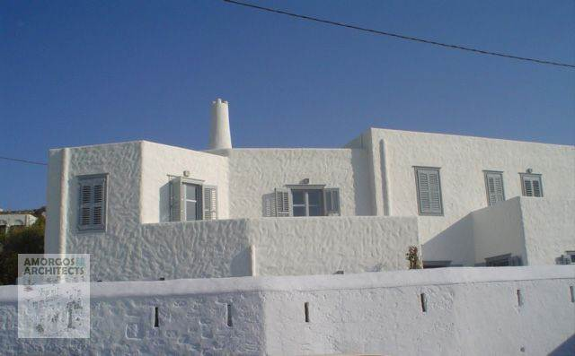 Design, planning and construction of a double house (230m2) with 2 floors in the area Photodotis, Chora Amorgos