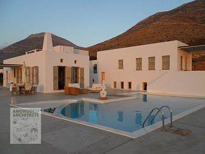 Design, planning and construction of a two-storey luxury villa (200m2) with swimming pool in Agios Pavlos