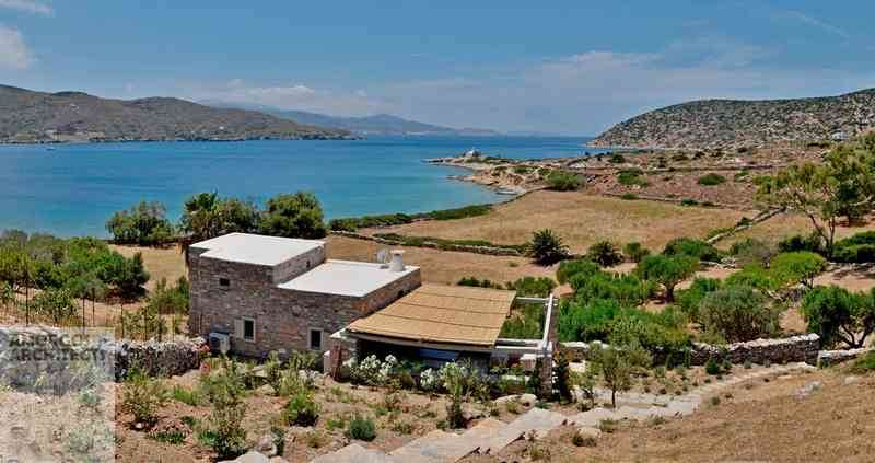 House for rent close to the sea, at the area Nera of Amorgos island