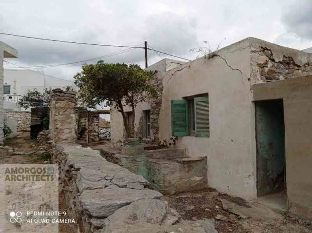(For Sale) Residential Detached house || Cyclades/Amorgos - 74 Sq.m, 55.000€