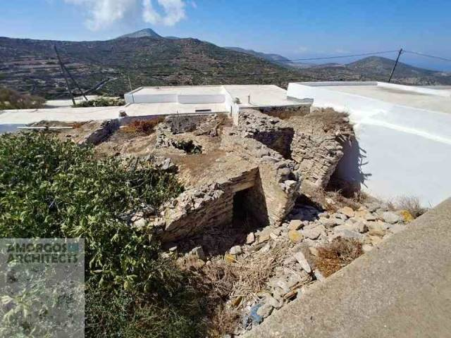 (For Sale) Land Plot wIthin Settlement || Cyclades/Amorgos - 38 Sq.m, 30.000€