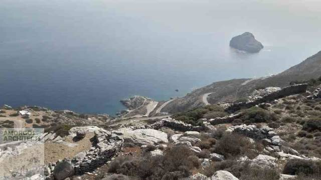 (For Sale) Land Agricultural Land  || Cyclades/Amorgos - 8.000 Sq.m, 80.000€