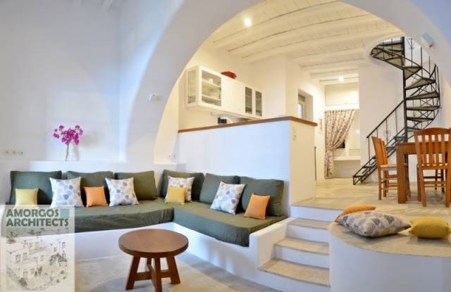 (For Rent) Residential Maisonette || Cyclades/Amorgos - 64 Sq.m