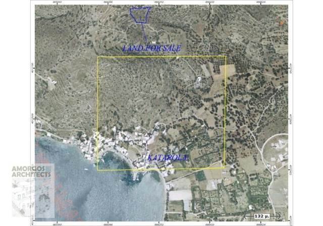 (For Sale) Land Agricultural Land  || Cyclades/Amorgos - 2.847 Sq.m, 15.000€